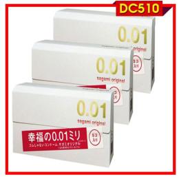 Bao cao su cao cấp Sagami Original 0.01 siêu mỏng