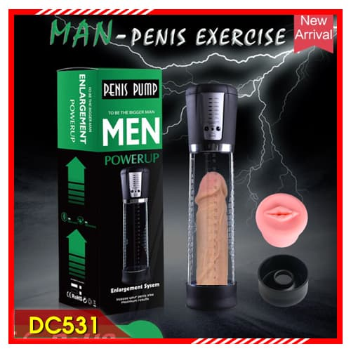 Man Penis pump Exercise Power up làm cậu nhỏ to khỏe