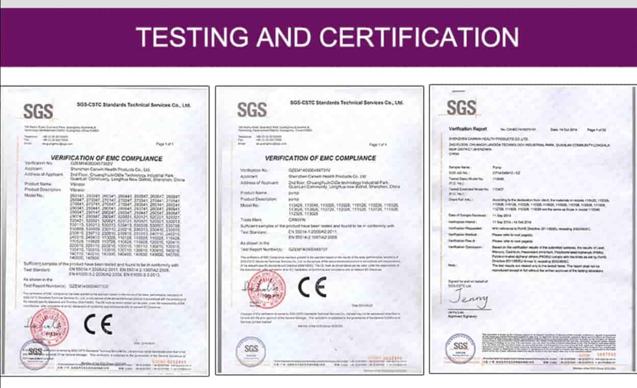 giấy chứng nhận tiêu chuẩn chất lượng