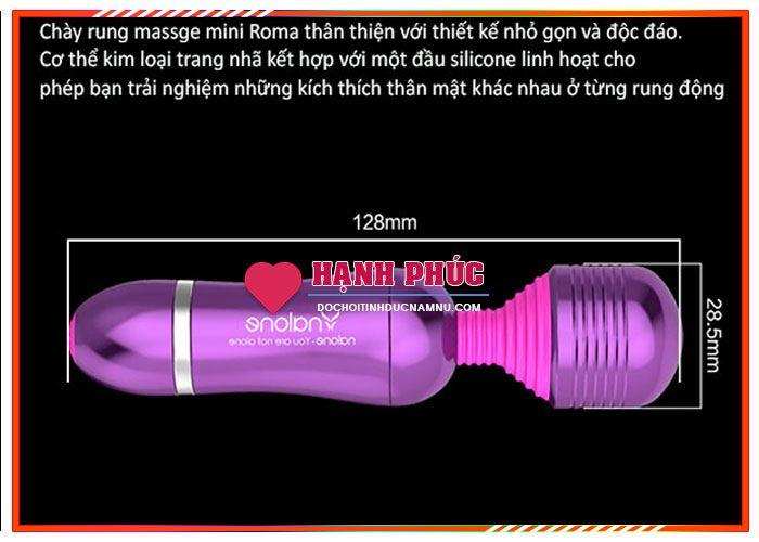 Dụng cụ tình dục chày rung massage kích thích tình dục 4