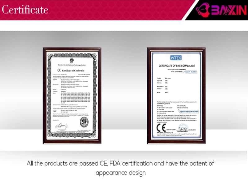 giấy chứng nhận tiêu chuẩn chất lượng của sản phẩm