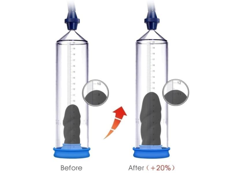 cách đo khoảng cách cậu nhỏ khi tập luyện